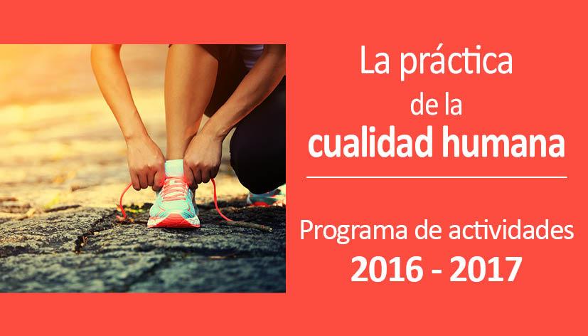 Programa de actividades 2016-2017