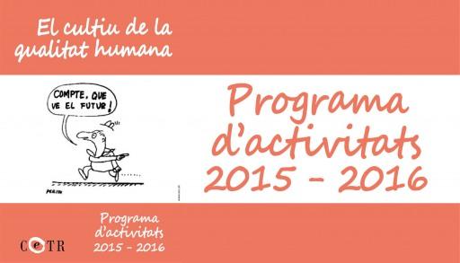 Programa d'activitats