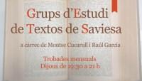 Grups d'estudi de textos de saviesa