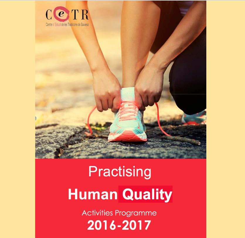 CETR Activities Programme 2016-2017