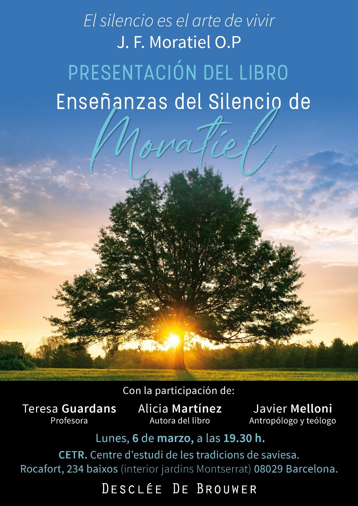 Presentación Del Libro «Enseñanzas Del Silencio De Moratiel»