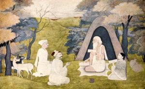 Valmiki explica el Ramayana