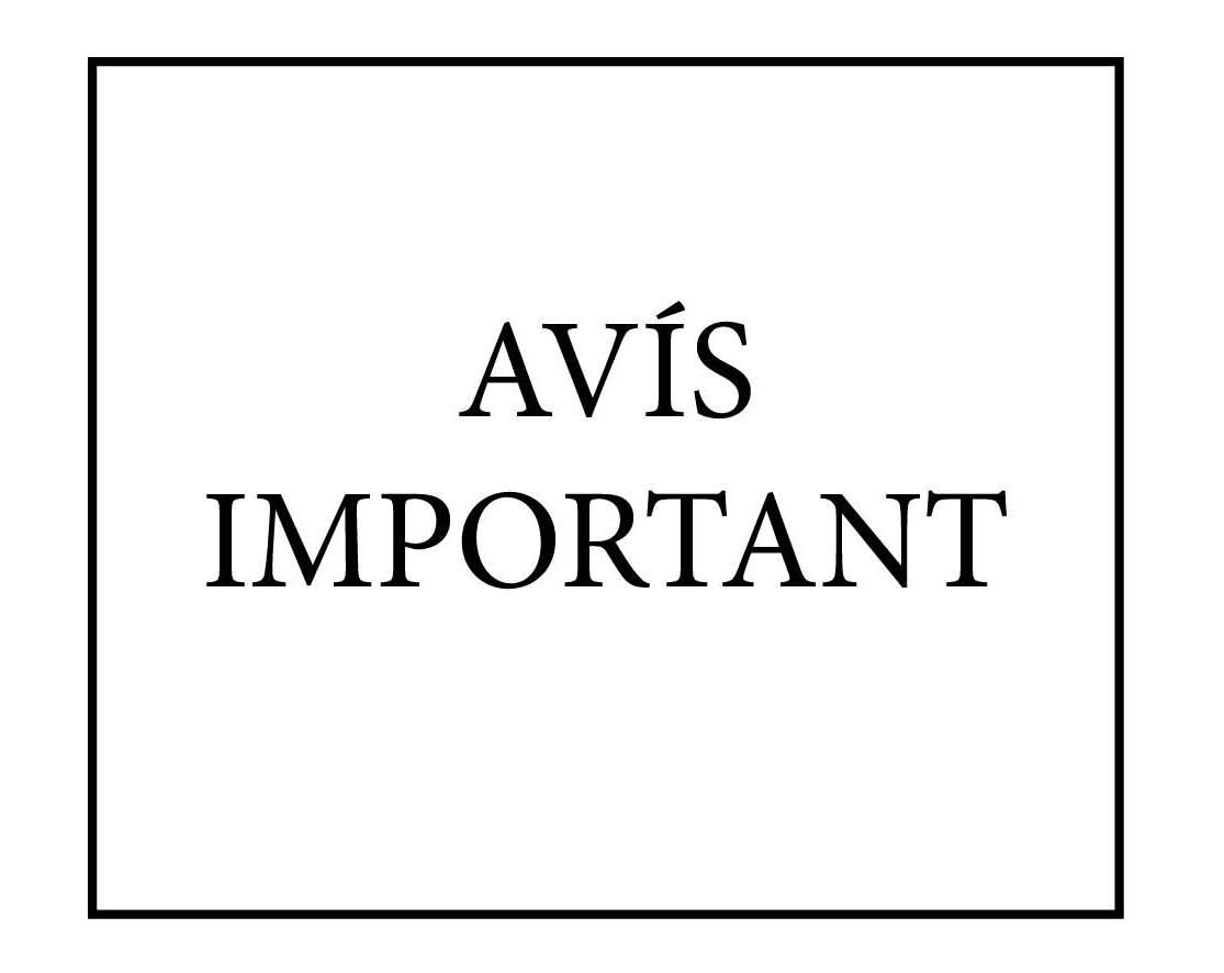 AVÍS – ACTIVITATS ON-LINE A CETR