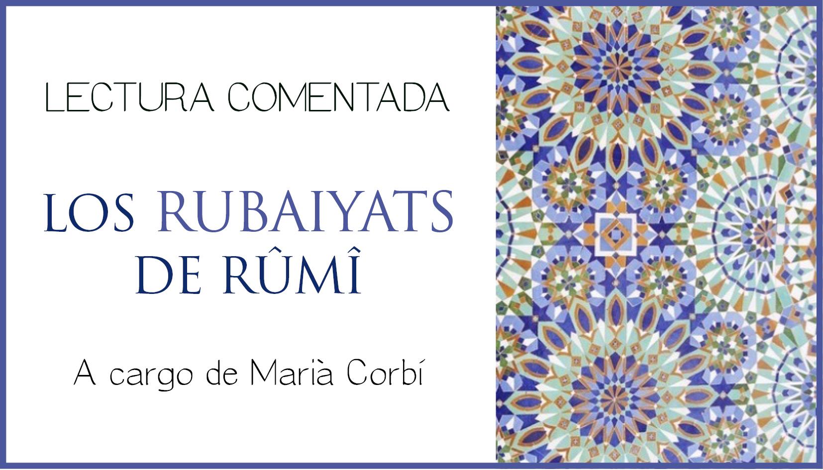 LOS RUBAIYATS DE RÛMÎ Curso 2020-2021
